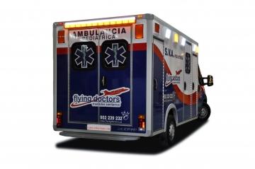 Carrocería Ambulancia UVI Pediátrica