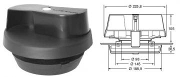 Extractor ventilador para vehículos
