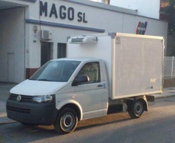 Volkswagen Transporter con carroceria frigorifica