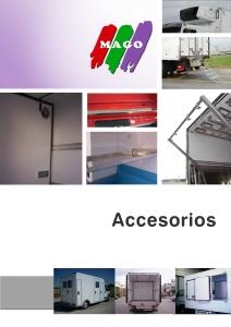 Catálogo de accesorios según mercancía a transportar